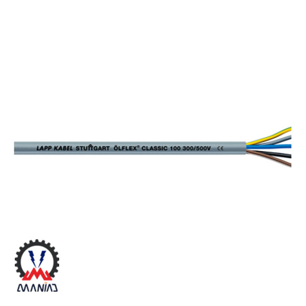 کابل کنترل PVC لپ کیبل آلمان مدل ÖLFLEX® CLASSIC 100